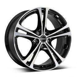 Borbet XL black polished 5/100 17x7.5 ET35