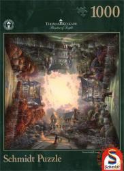 Schmidt Spiele Thomas Kinkade: Viktoriánus kert II 1000 db-os (59294)
