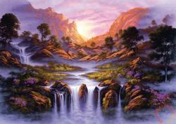 Schmidt Spiele Traumhafter Wasserfall / Álomszerű vízesés 1000 db-os (59321)