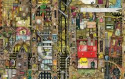 Schmidt Spiele Colin Thompson: Fantastisches Stadtbild / Fantasztikus városkép 1000 db-os (59355)
