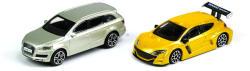 Bburago Audi Q7 és Renault Megane RS kisautók 1:43