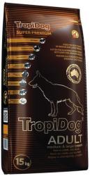 TropiDog Super Premium Adult Medium & Large - Lamb & Rice 15kg