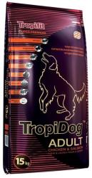 TropiDog Super Premium Adult Medium & Large - Chicken & Salmon 15kg
