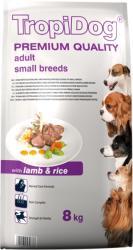 TropiDog Premium Adult Small Breeds - Lamb & Rice 8kg