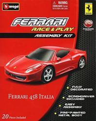 Bburago Race & Play Assembly Kit - Ferrari 458 Italia 1:43