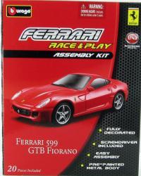 Bburago Race & Play Assembly Kit - Ferrari 599GTB Fiorano 1:43