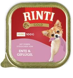 RINTI Gold Mini - Duck & Poultry 100g