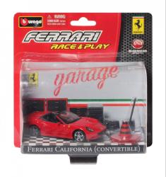 Bburago Race & Play - Ferrari California (Convertible) 1:43