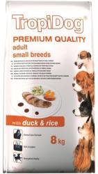 TropiDog Premium Adult Small Breeds - Duck & Rice 8kg
