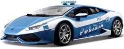 Bburago Lamborghini Huracán LP 610 rendőrségi autó 1:18