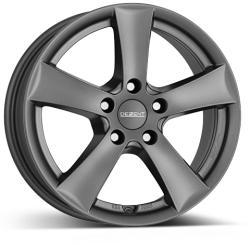 DEZENT TX graphite CB67.1 5/114.3 16x6.5 ET50