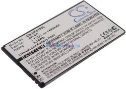Utángyártott Nokia Li-ion 1400 mAh BP-4W