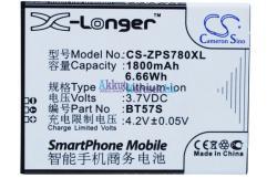 Utángyártott ZOPO Li-ion 1800 mAh BT57S