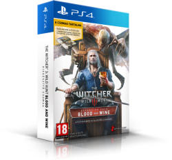 CD Projekt RED The Witcher III Wild Hunt Blood and Wine (PS4)