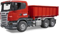 BRUDER Scania R teherautó görgős konténerrel