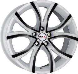 Mak Nitro 5 Anod White Black CB76 5/112 17x7.5 ET30