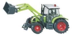 Siku Claas Ares traktor homlokrakodóval