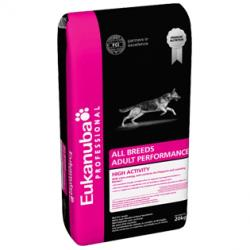 Eukanuba All Breeds Adult Performance High Actviity 19kg