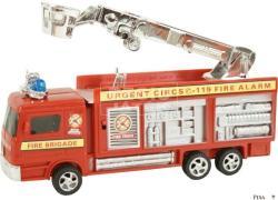 Kosaras tűzoltóautó fénnyel 21cm