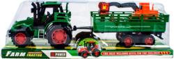 Lendkerekes traktor munkagépszállító utánfutóval 30cm