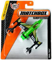 Mattel Matchbox MBX Sky Busters - Duel Tail repülőgép