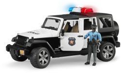 BRUDER Jeep Wrangler Unlimited Rubicon rendőrautó, rendőr figurával