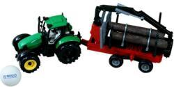 Rönk- és tejszállító műanyag traktor
