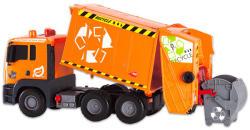 Dickie Toys Narancssárga pumpás kukásautó 55cm