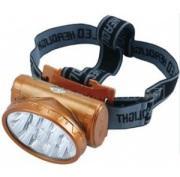 YJ Yj-1898 - акумулаторен, led челник, фенер за глава, 13 диода, 2 режима светене (yj-1898)
