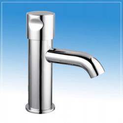 B&K , Időzített, nyomógombos, fejben keverős mosdócsaptelep H-M vízre (15+-5 mp), BK03515000000001