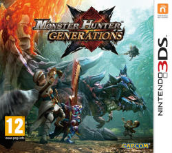 Capcom Monster Hunter Generations (3DS)