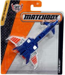 Mattel Matchbox MBX Sky Busters - Twin Blast repülőgép