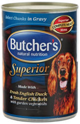 Butcher's Superior - Duck, Chicken & Vegetables 400g