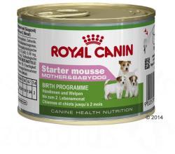 Royal Canin Starter Mousse Mother & Babydog 12x195g