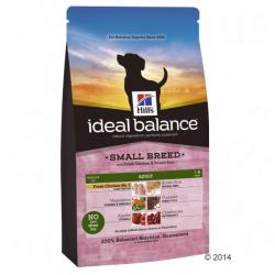 Hill's Ideal Balance Adult Small Breed - Chicken & Rice 3x2kg