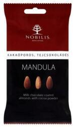 Nobilis Kakaóporos-tejcsokoládés mandula drazsé 100g