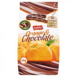 SunVita étcsokoládés kandírozott narancshéj (90g)