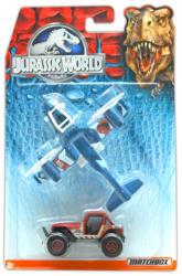 Mattel Matchbox - Jurassic World jármű szett (2db-os) - Terepjáró és repülőgép