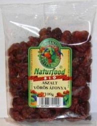 Naturfood Bio aszalt vörösáfonya (100g)