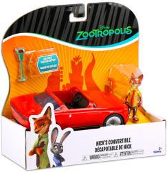 TOMY Zootropolis - Állati nagy balhé járművek - Nick sportautója