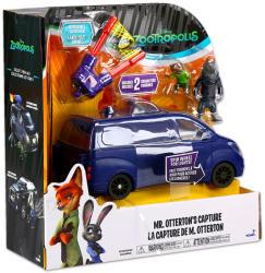 TOMY Zootropolis - Állati nagy balhé járművek - Kék kisteherautó