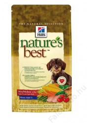 Hill's Nature's Best Mature Adult Mini/Medium 4x12kg