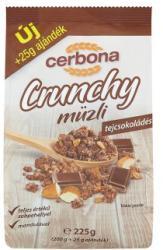 Cerbona Crunchy tejcsokoládés müzli (225g)
