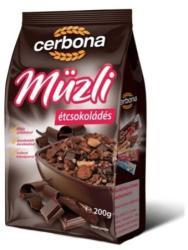Cerbona Étcsokoládés müzli (200g)