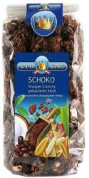 Bio King Csokis-mogyorós ropogós müzli (375g)