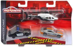 Majorette Bűnüldöző 3db-os járműkészlet - Amerikai