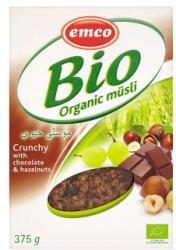 emco Bio ropogós csokoládés-mogyorós müzli (375g)