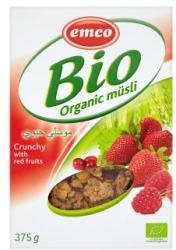 emco Bio ropogós pirosgyümölcsösl müzli (375g)