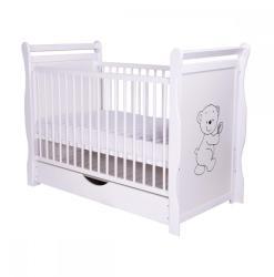 BabyNeeds Jas Ursulet cu sertar 120x60