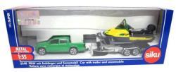 Siku Volkswagen terepjáró utánfutóval és hójáróval 1:55 (2548)